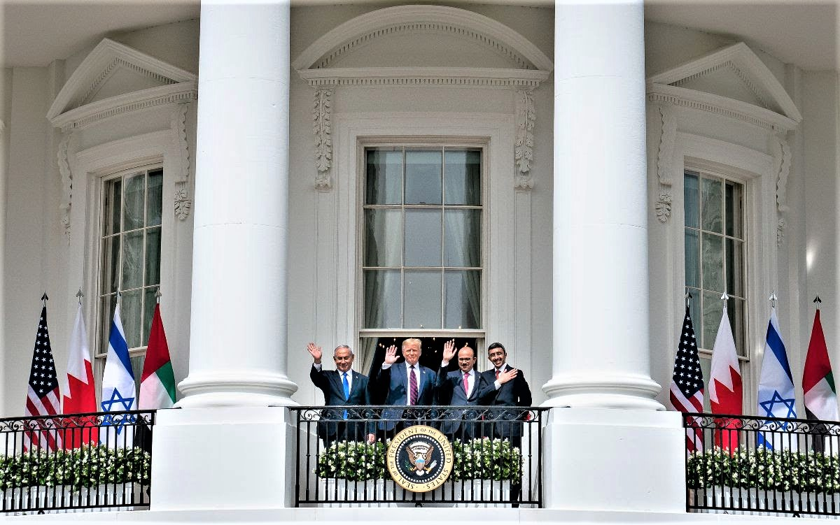 New:Major peace deals signed at the White House!