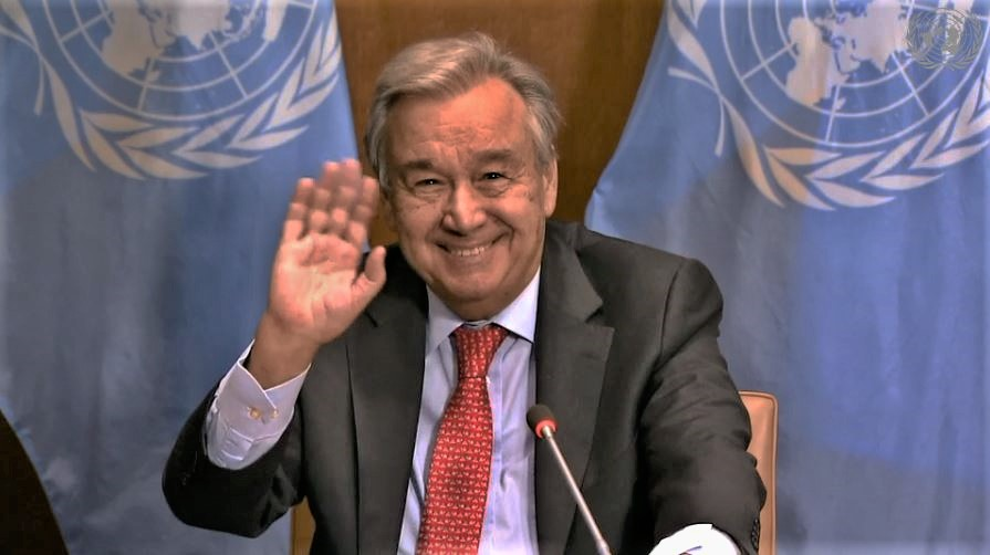 UN Secretary-General's remarks at virtual press stakeout - Climate Ambition Summit